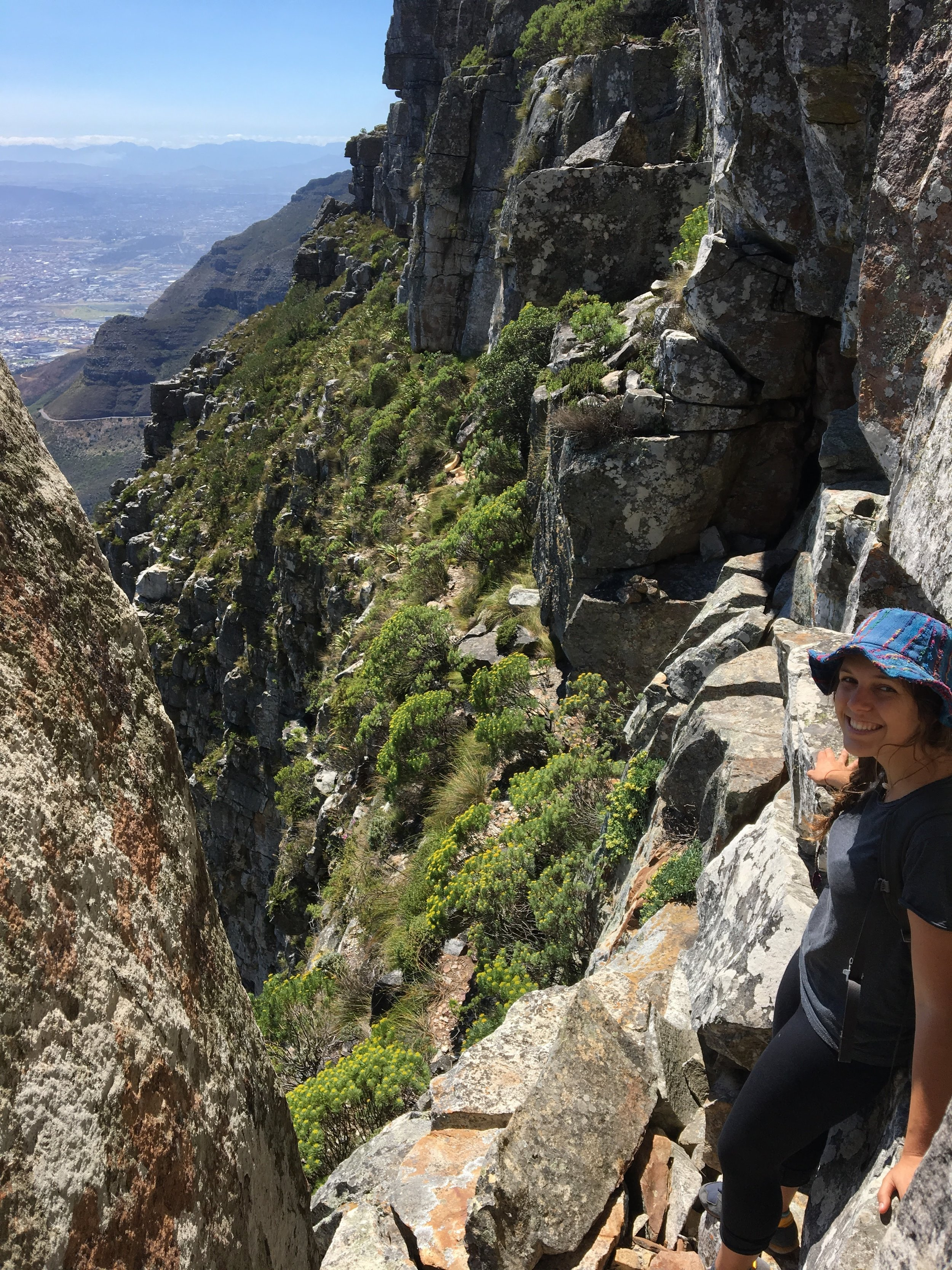 hiking up table mountain with my niece Maia10.JPG