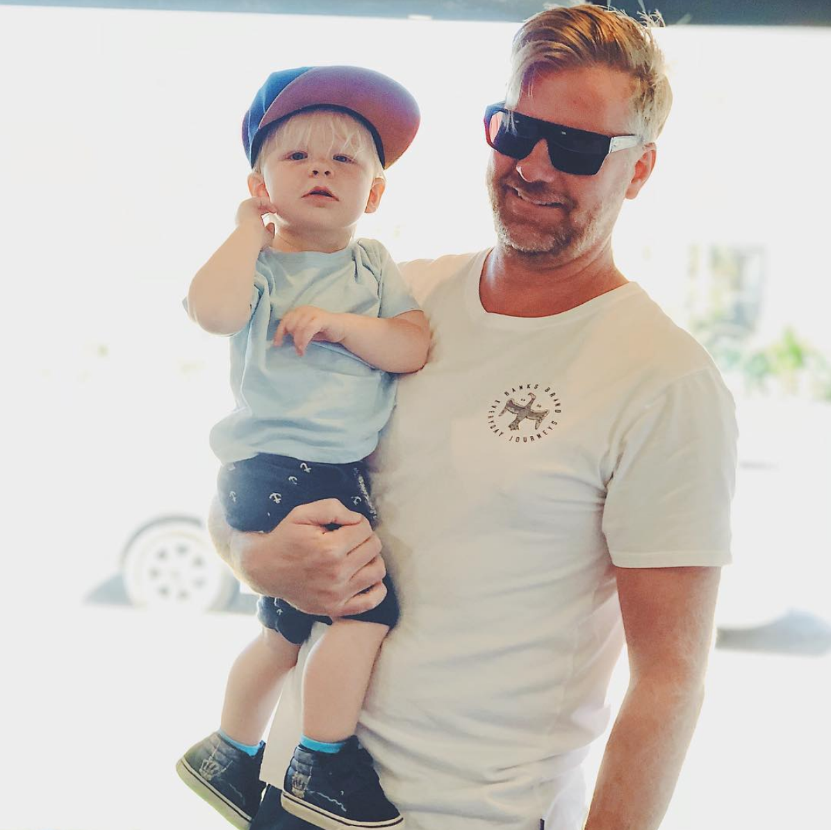 Owner, Jay Lewis, and his son
