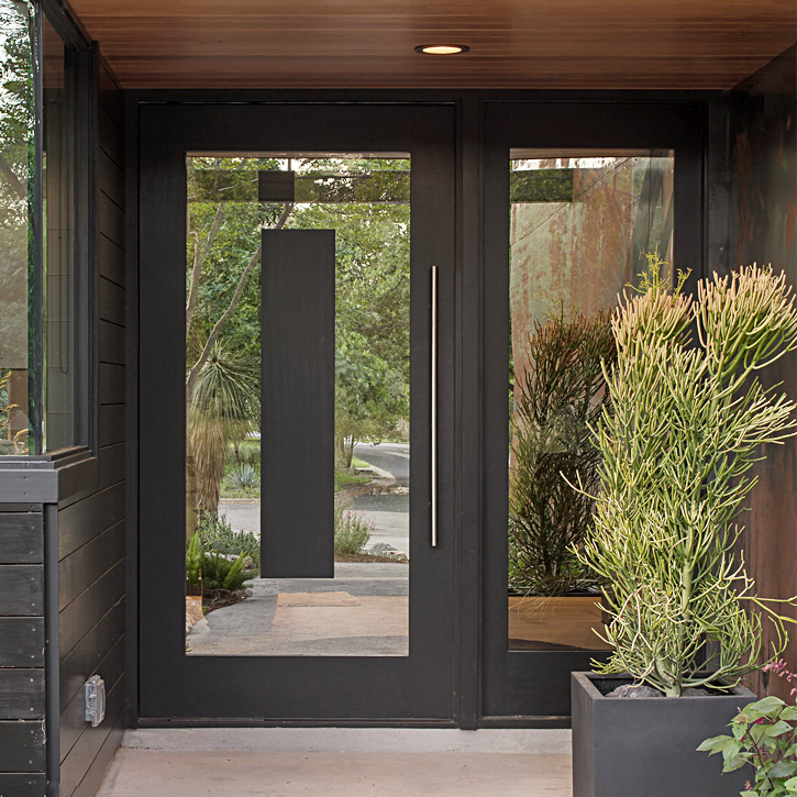 Entry Doors - We create custom architectural entry doors of all materials and sizes; pivot doors are our specialty.