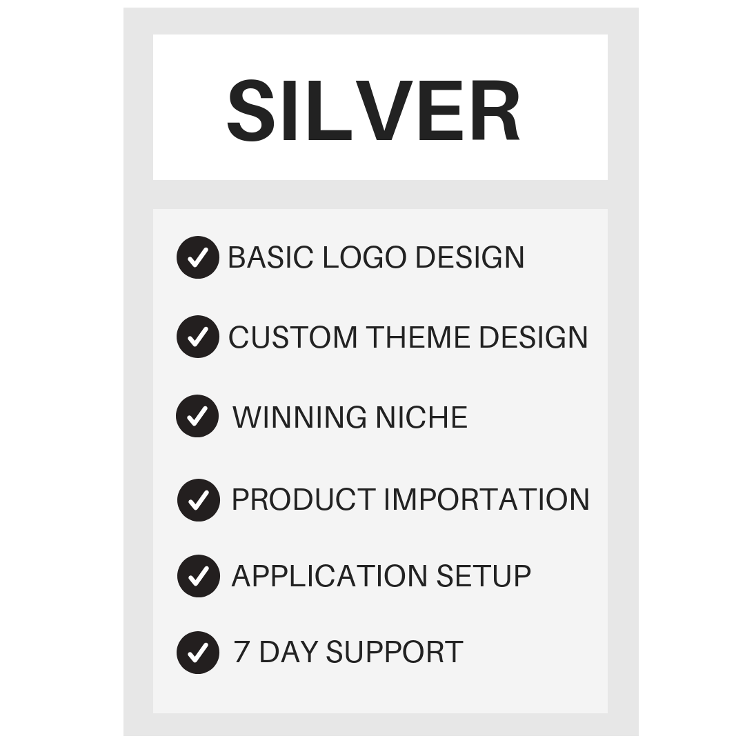 Silver Package -