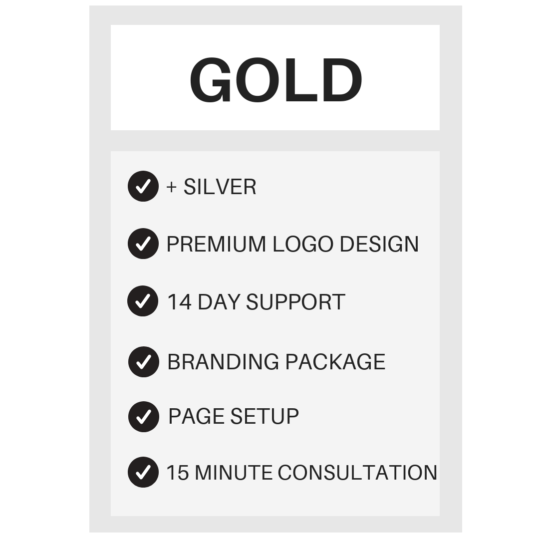 Gold Package -