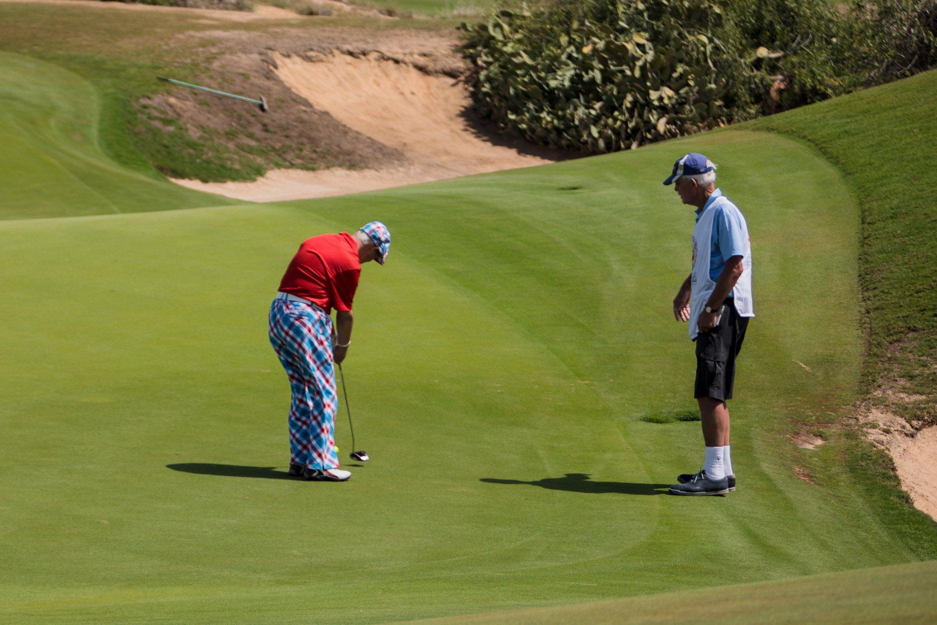 Day 6 - Yas Links Abu Dhabi Golf Club