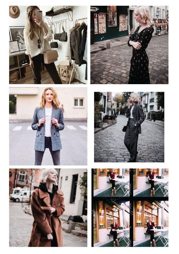 Influencers / Chemins Blancs - Discover our beautiful Chemins Blancs looks chosen by our fashion influencers.