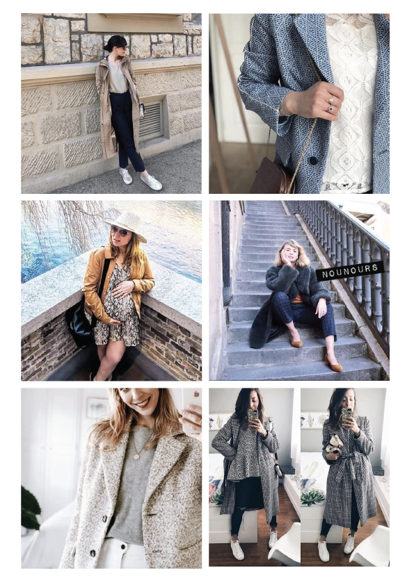 Influencers / Trench & Coat - Discover the coats and looks adopted by Trench & Coat's influencers.