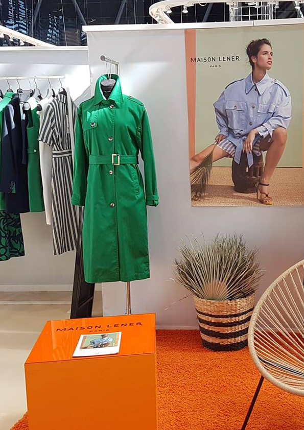WSN Septembre 2019 - Our brands Maison Lener and Trench & Coat were present at the fashion trade show Who's Next.