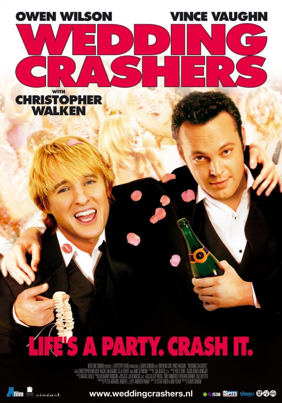 wedding crashers dvd cover