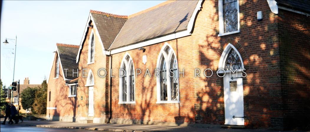 Old Parish Rooms Wedding Trailer