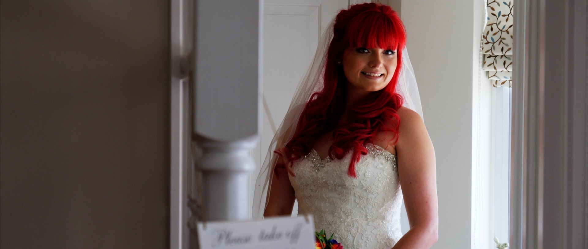 Essex Red Hair Wedding Bride