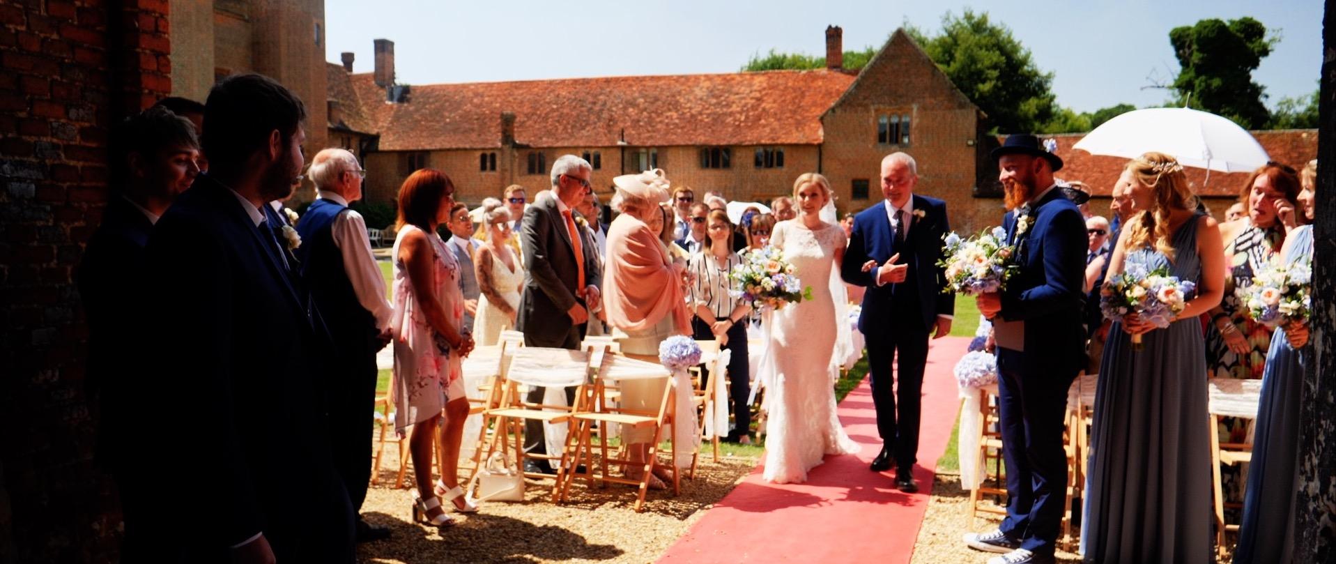 Leez Priory Ceremony