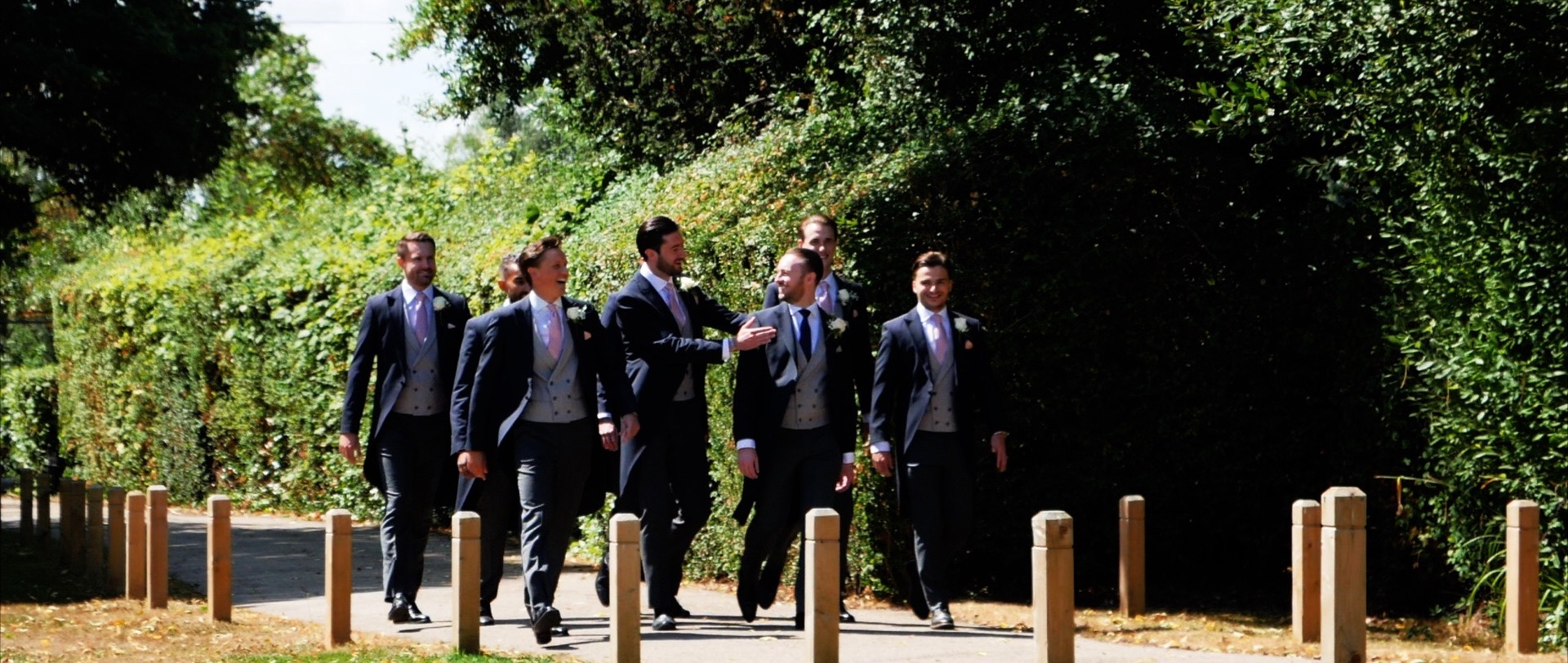 The Fennes Groomsmen