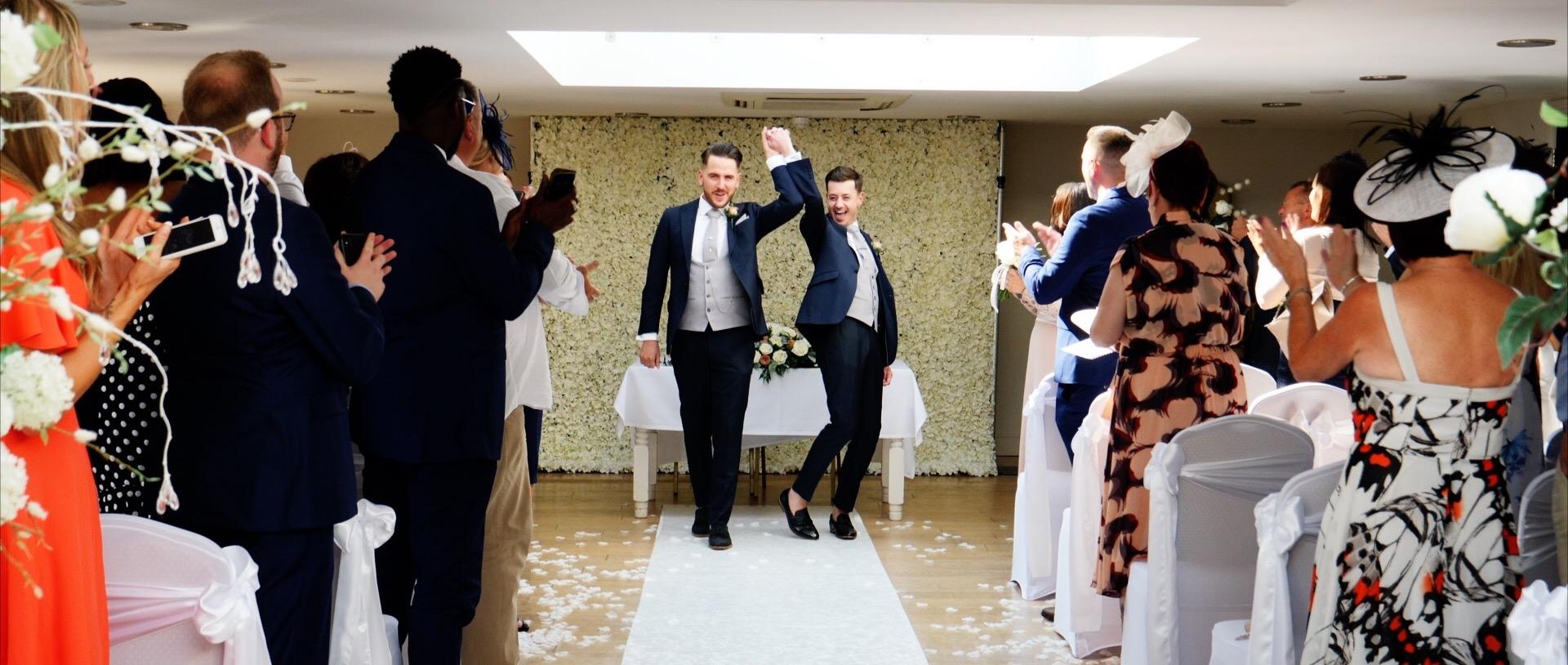 The Rayleigh Club Same Sex Wedding