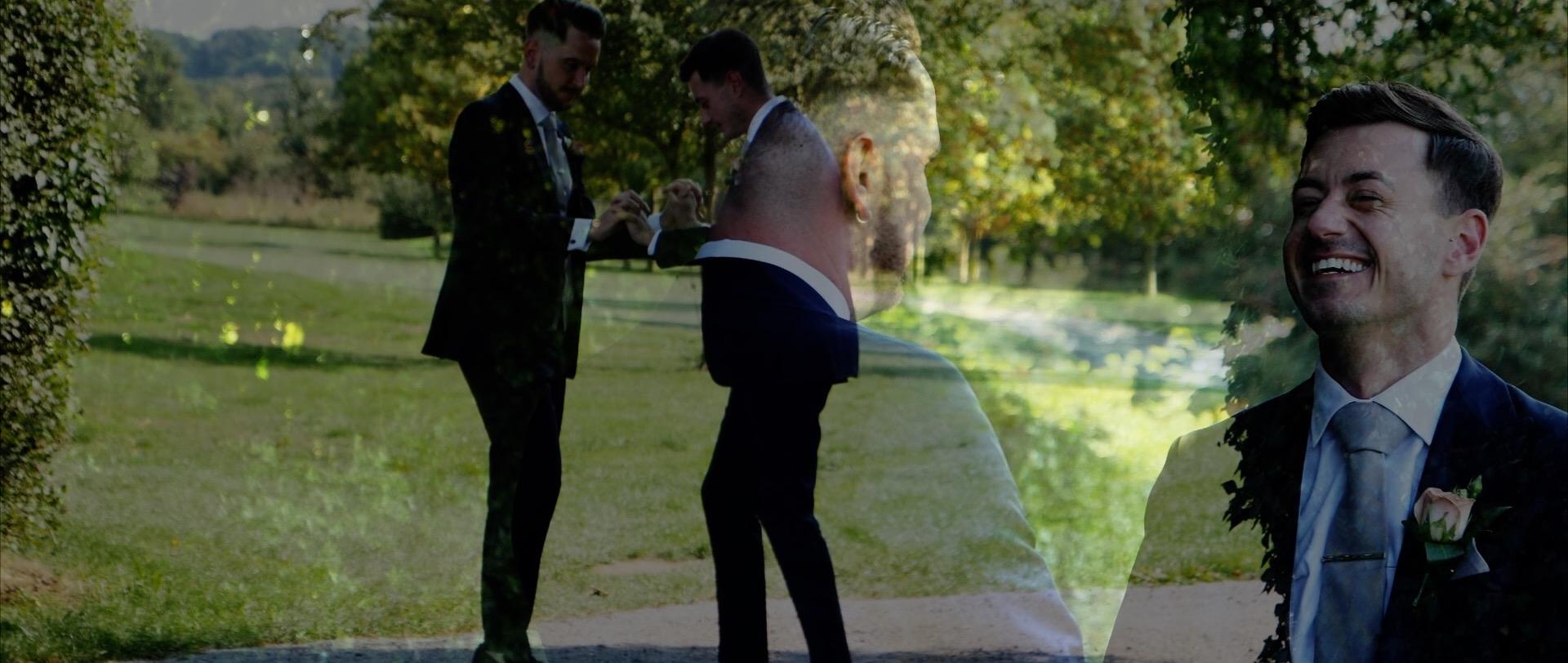 Essex same sex wedding videographer