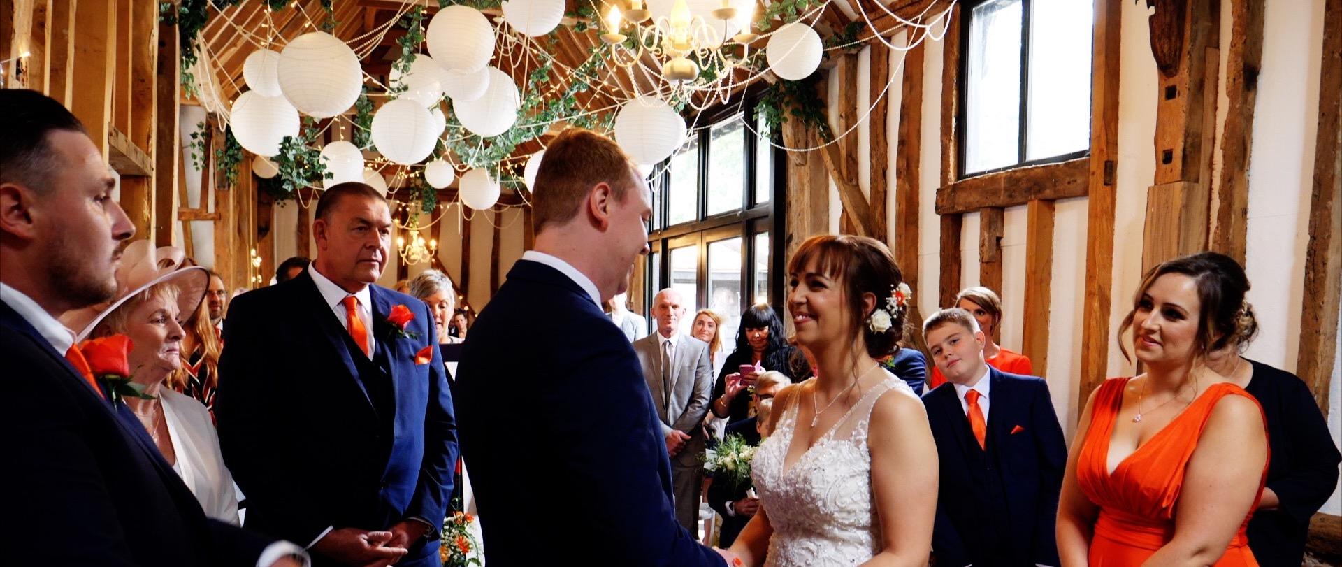 Wedding Ceremony High House Althorne