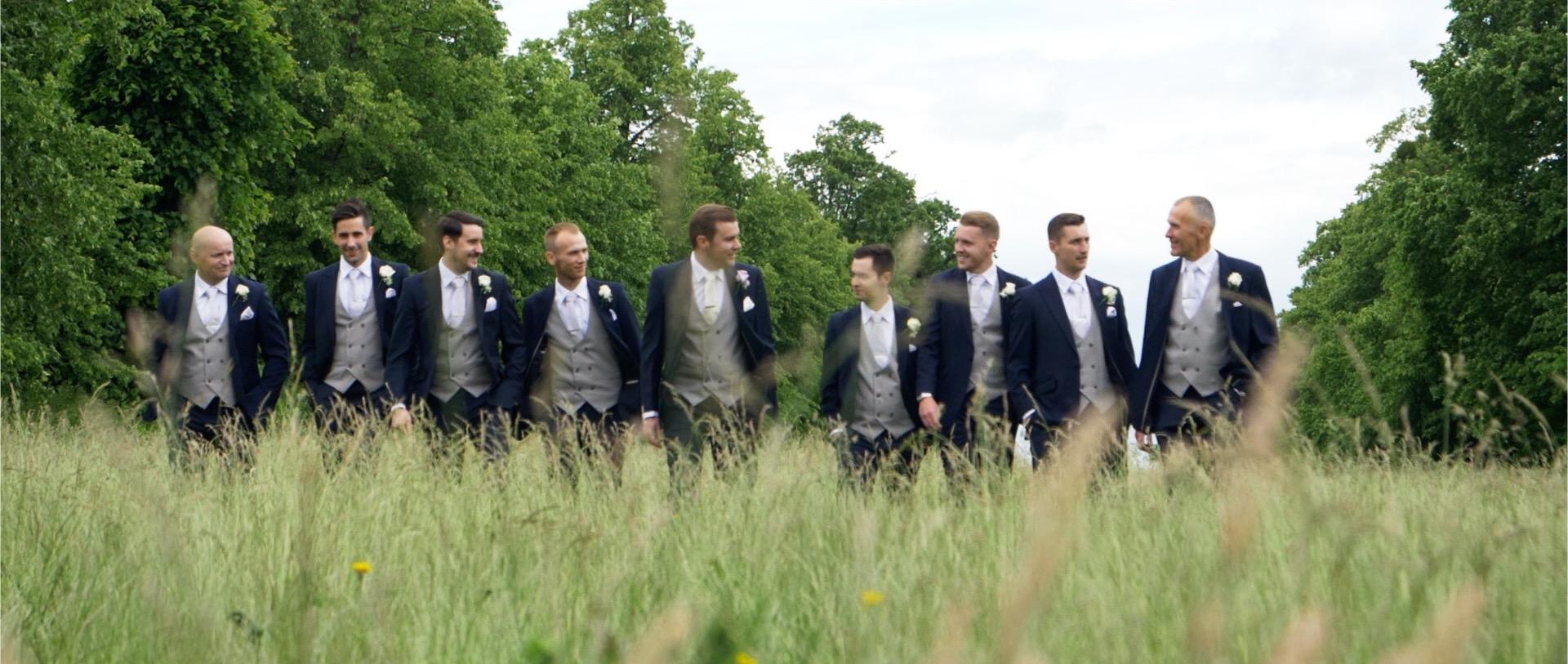 Groomsmen Walk Video Essex Weddings.jpg