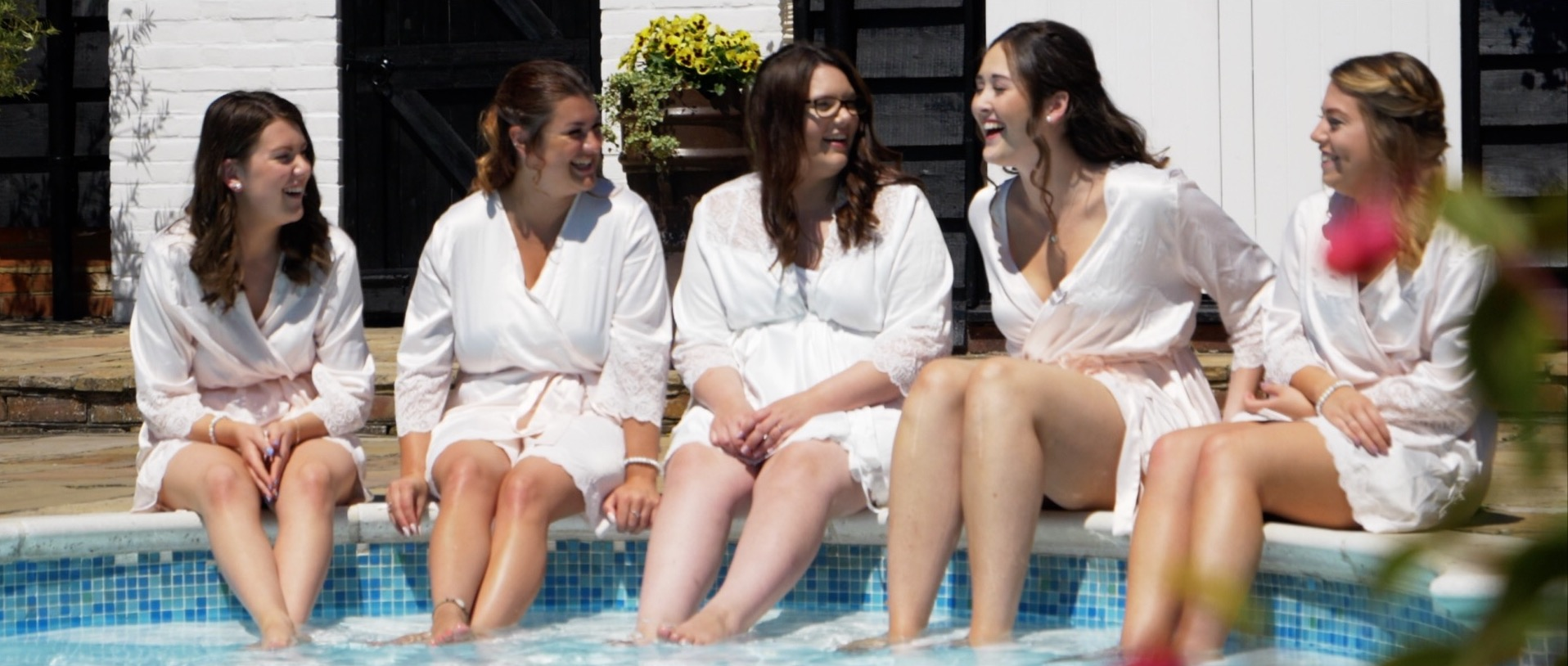 Bridal Preparation Pool side at High House Essex.jpg