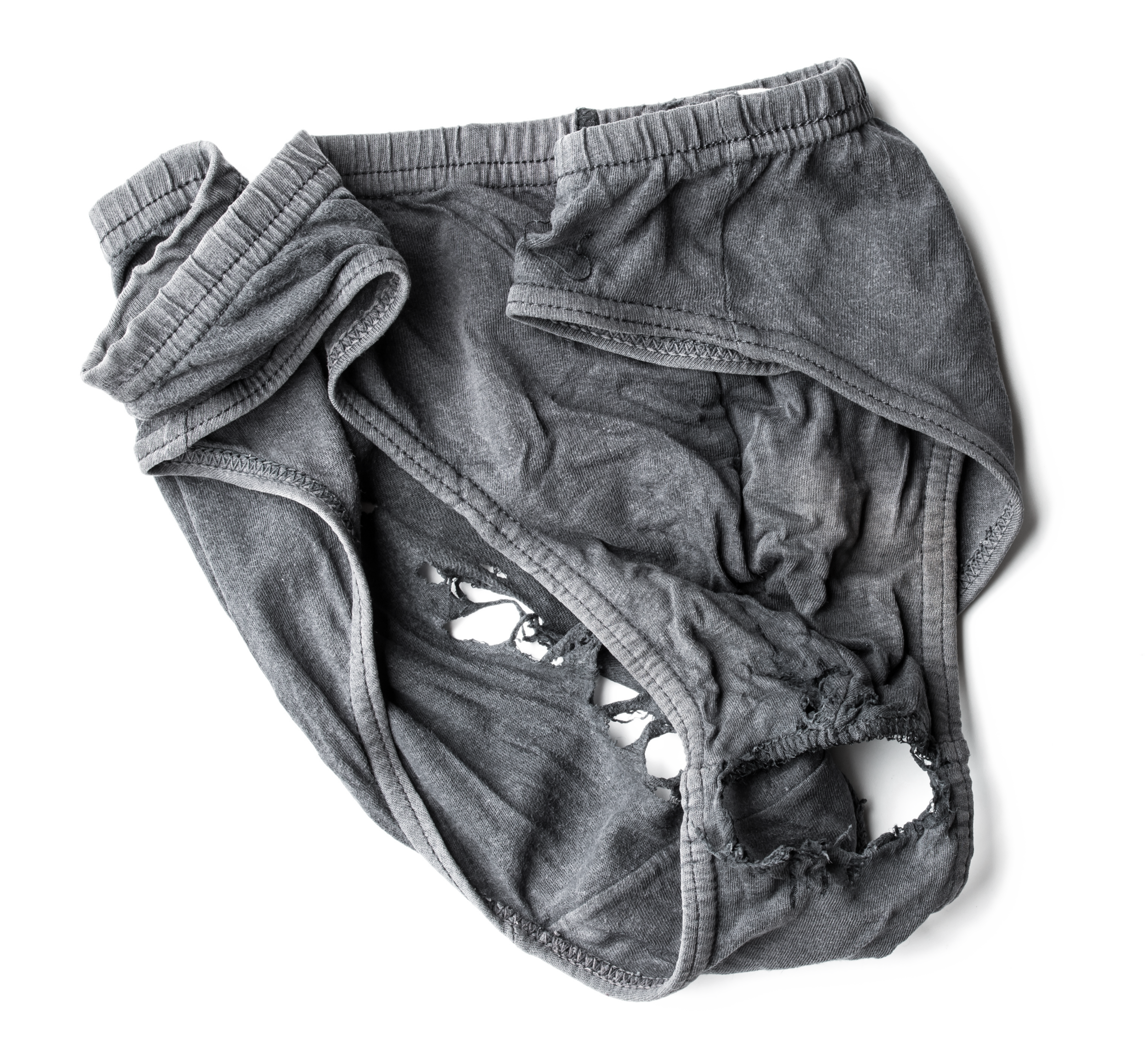 Martins's holey pants | © Martin's wife
