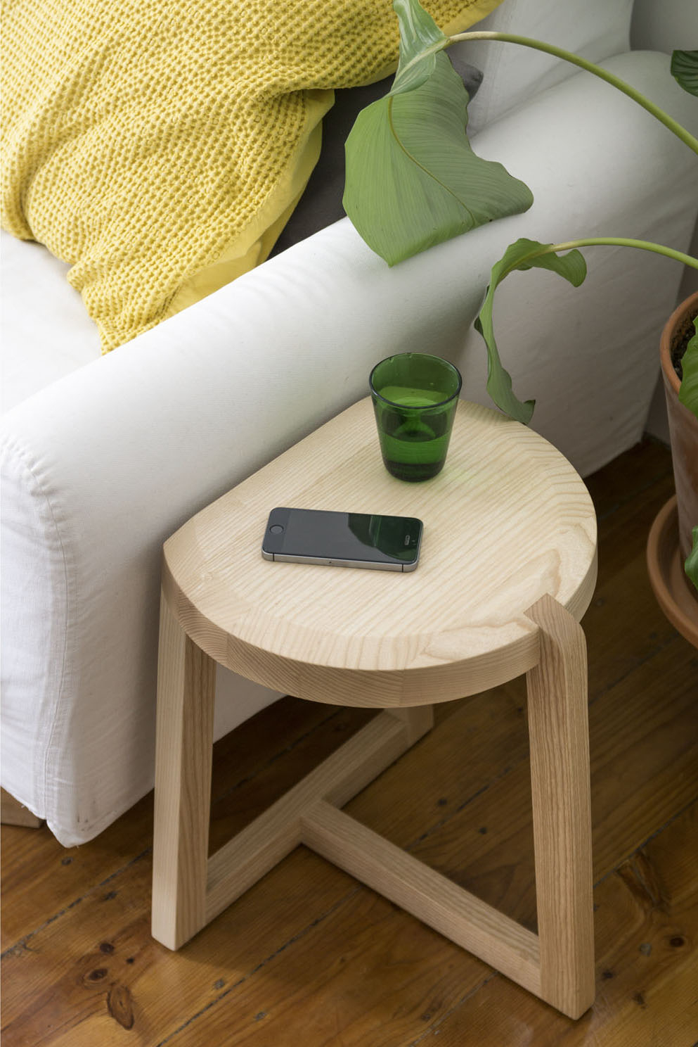 Oyster Stool from UTIL