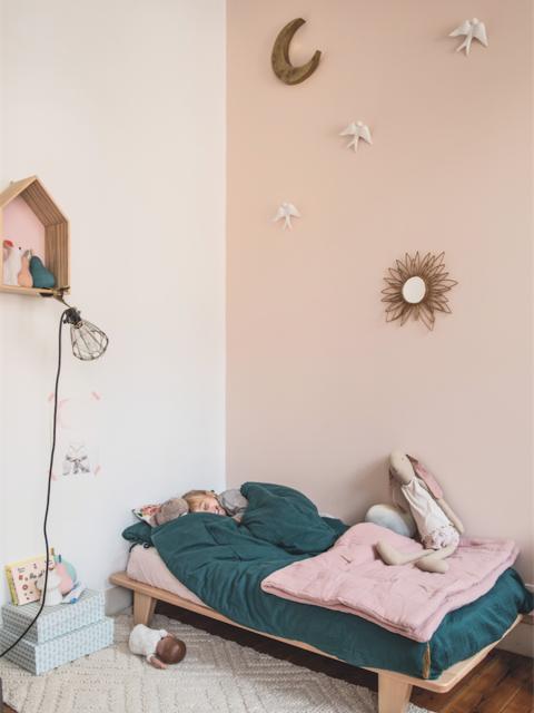 Paz's sleeping room