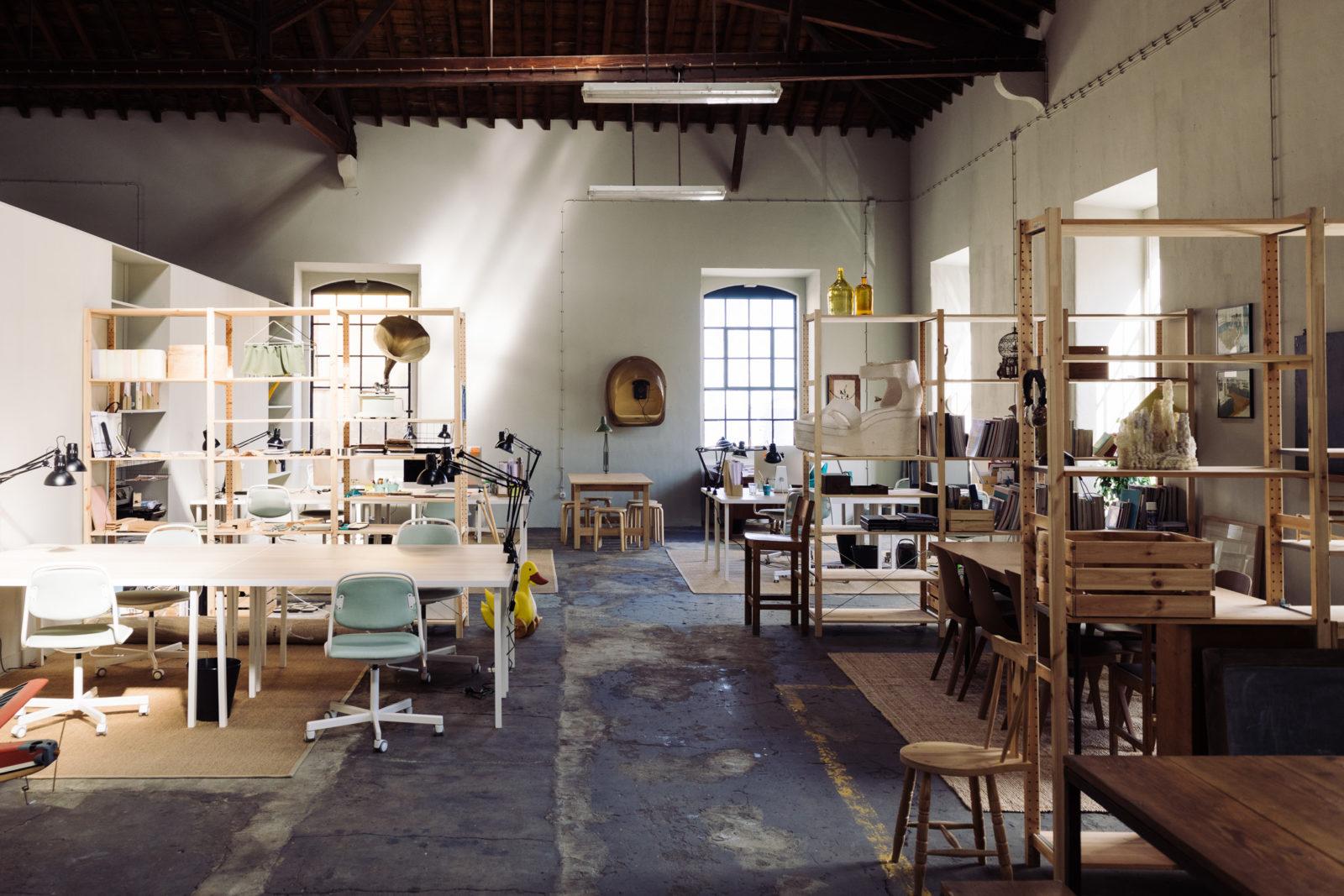 O atelier do Studio Astolfi