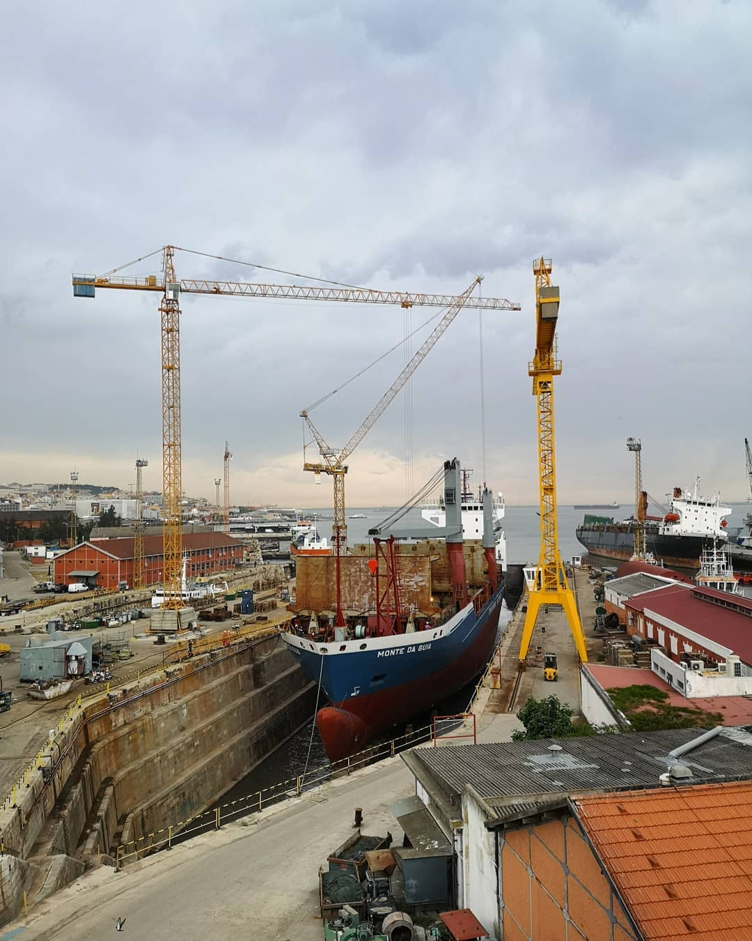 The port of Lisbon