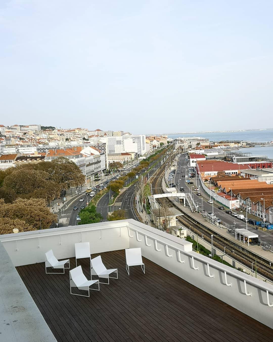 Lisbon seen from WPP