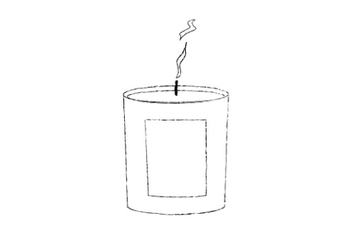 3. BLOW OUT   Blow out or extinguish your candle carefully, taking care not to splash wax. Leave your candle to cool and the wax to return to a solid state before handling or moving