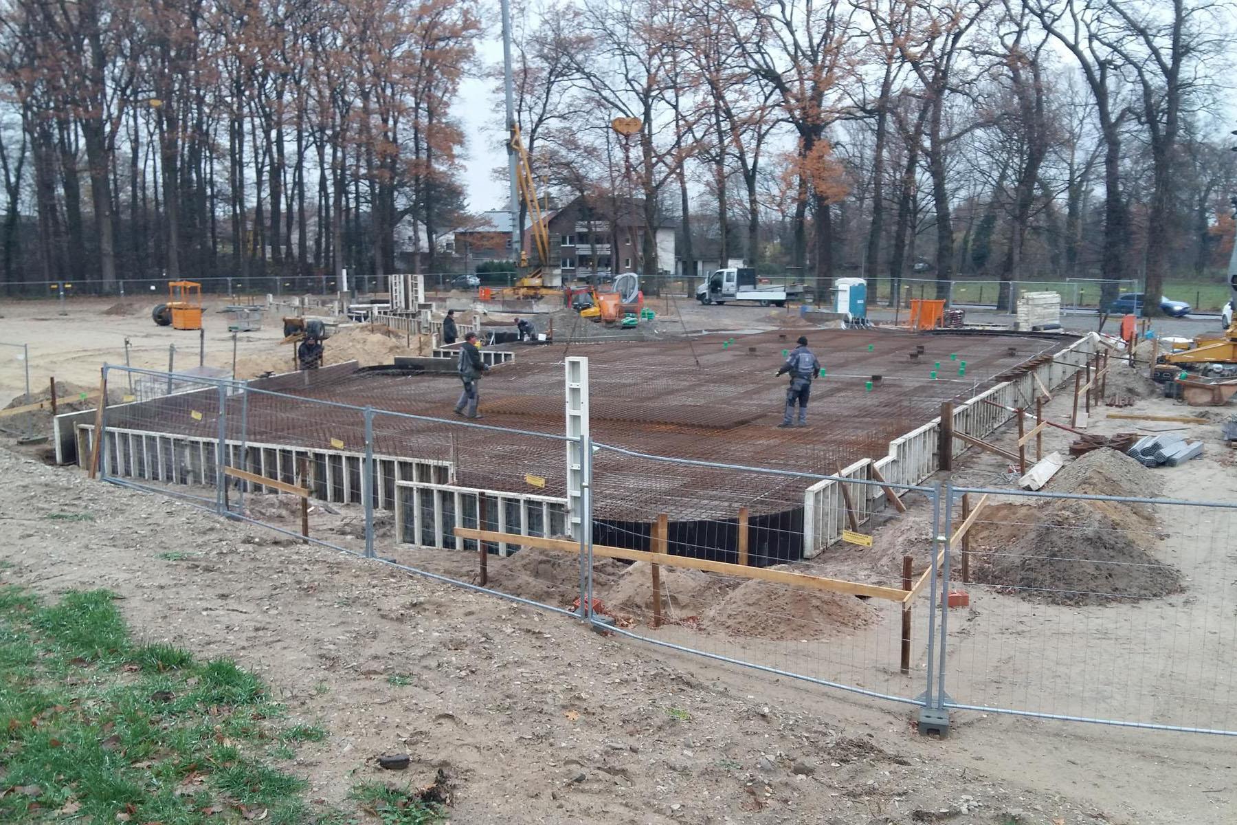 Spatenstich - Beginn der Bauarbeiten der KiTa Bohlenweg in Paderborn-ElsenOktober 2018