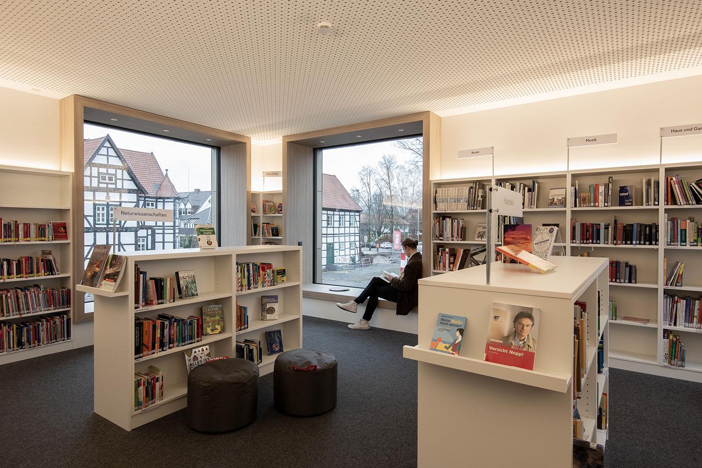 Fertigstellung - Umbau und Erweiterung der Senne-Bücherei, HövelhofNovember 2018