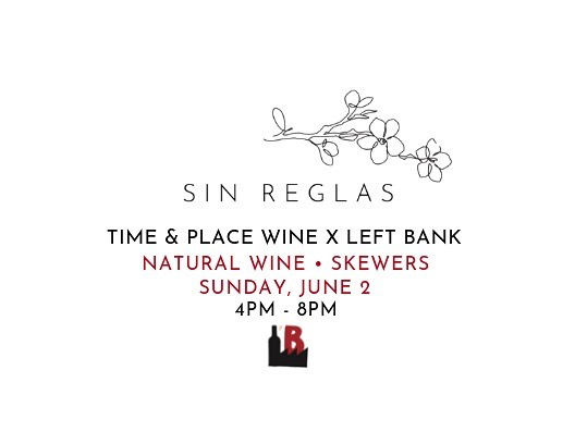 Come join us at @leftbankseattle this Sunday, June 2nd, for a party filled with delicious natural wines and food grilled on the barbie! We are collaborating with @timeandplacewine as we explore Spanish natural wines! Walk-ins welcome!!! ⠀⠀⠀⠀⠀⠀⠀⠀⠀⠀⠀⠀ ⠀⠀⠀⠀⠀⠀⠀⠀⠀⠀⠀⠀ ⠀⠀⠀⠀⠀⠀⠀⠀⠀⠀⠀⠀ Left Bank Seattle is one of the great natural wine bars in Seattle and every Sunday @timeandplacewine curates a tasting of wines from different countries and regions.