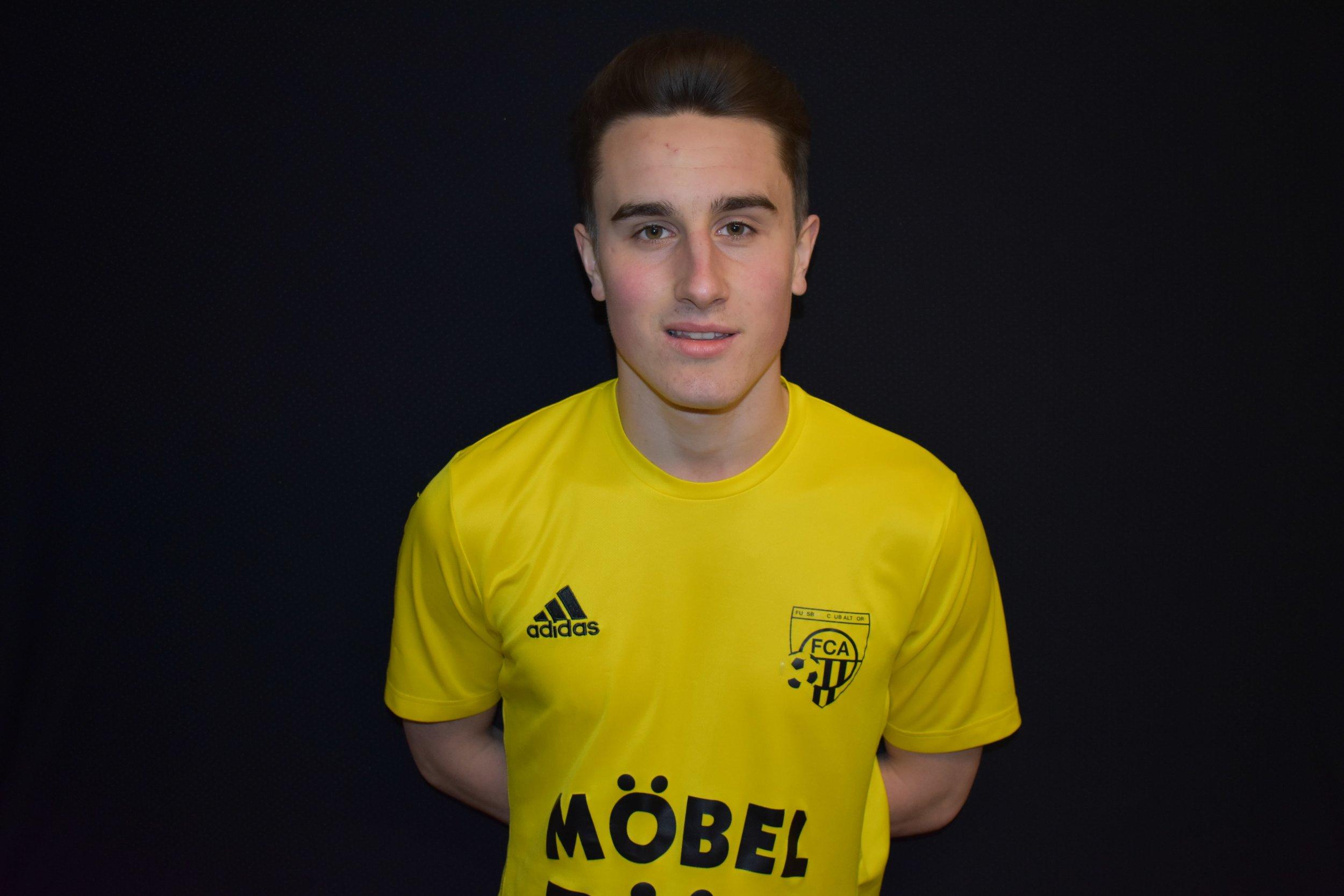 Altdorfs Jamin Schürpf traf bei seinem Pflichtspieldebüt nach langer Verletzung zum Führungstreffer. Foto: FC Altdorf