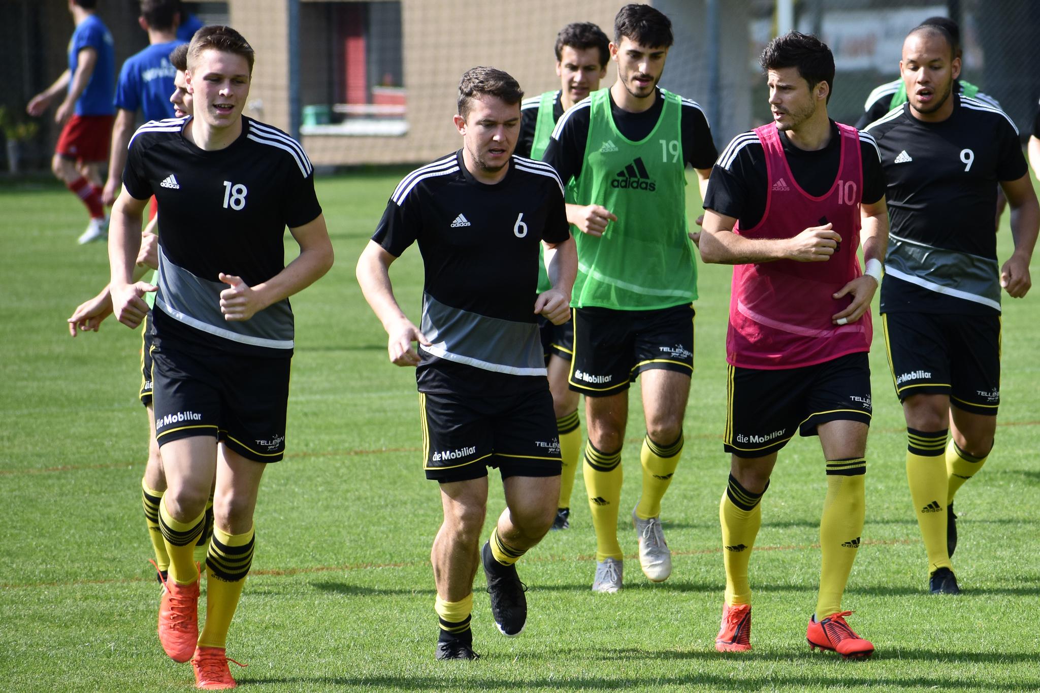 Die Vorbereitung ist abgeschlossen, Altdorfs Spieler stehen vor dem Saisonstart.  Foto: Ronny Arnold