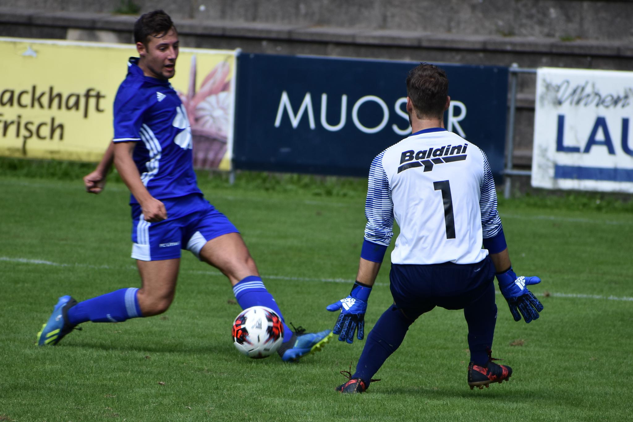 Altdorfs neue Nummer 1 Kai Nicolas Stutz zeigte eine starke Partie. Foto: FC Altdorf