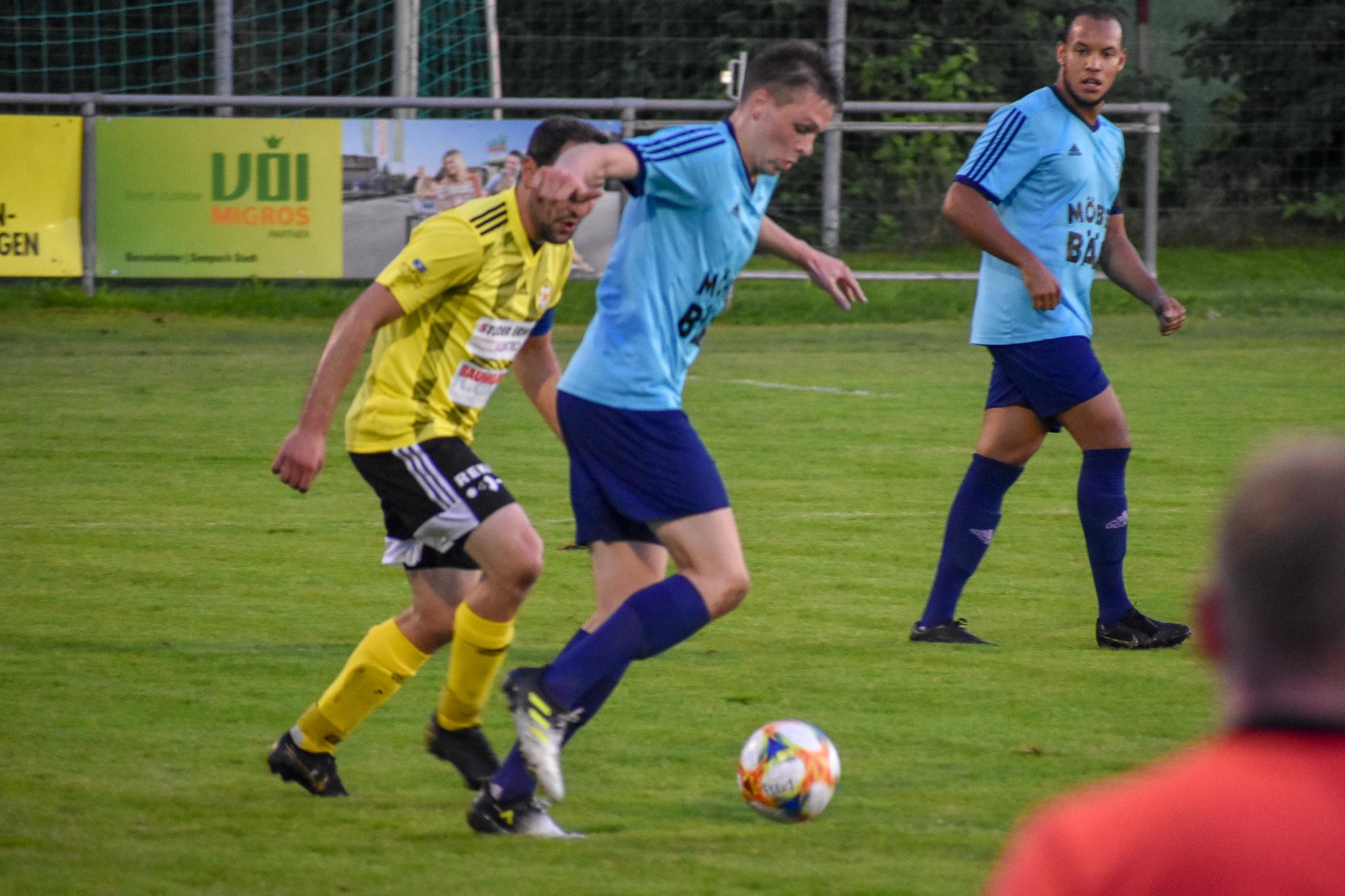 Pirmin Baumann war auch gegen Gunzwil ein Aktivposten. Foto: FC Altdorf