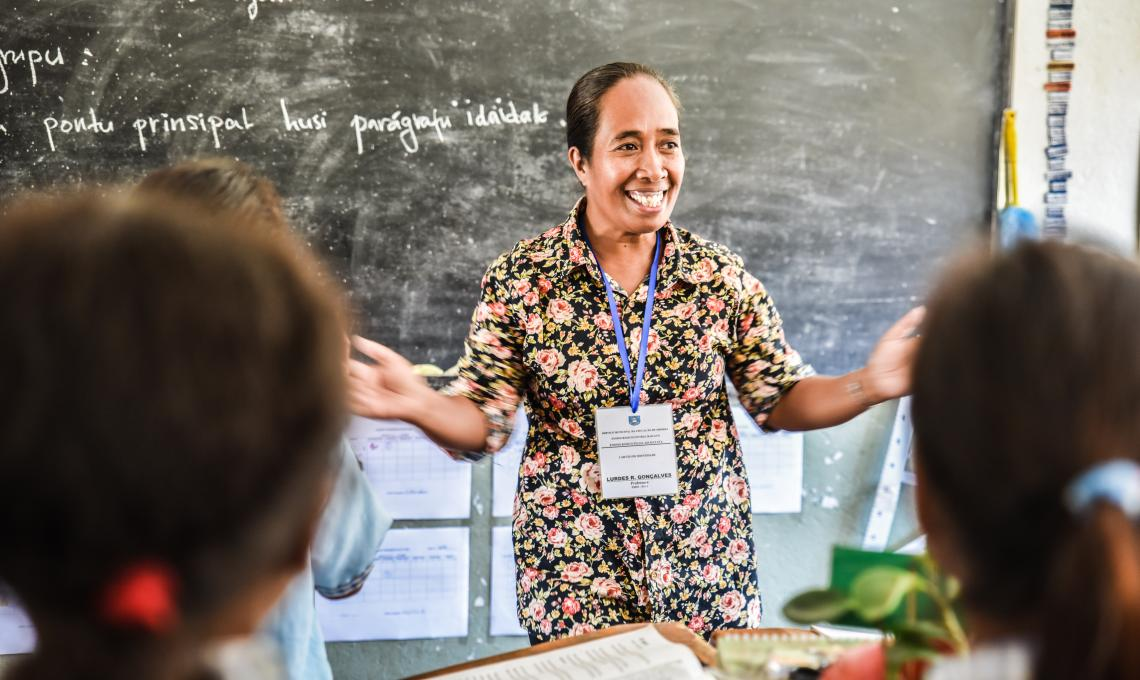 Supporting education leaders in Timor-Leste -
