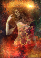 """Duende  by Lisbeth Cheever-Gessaman from """"The Sutras of Unspeakable Joy"""""""