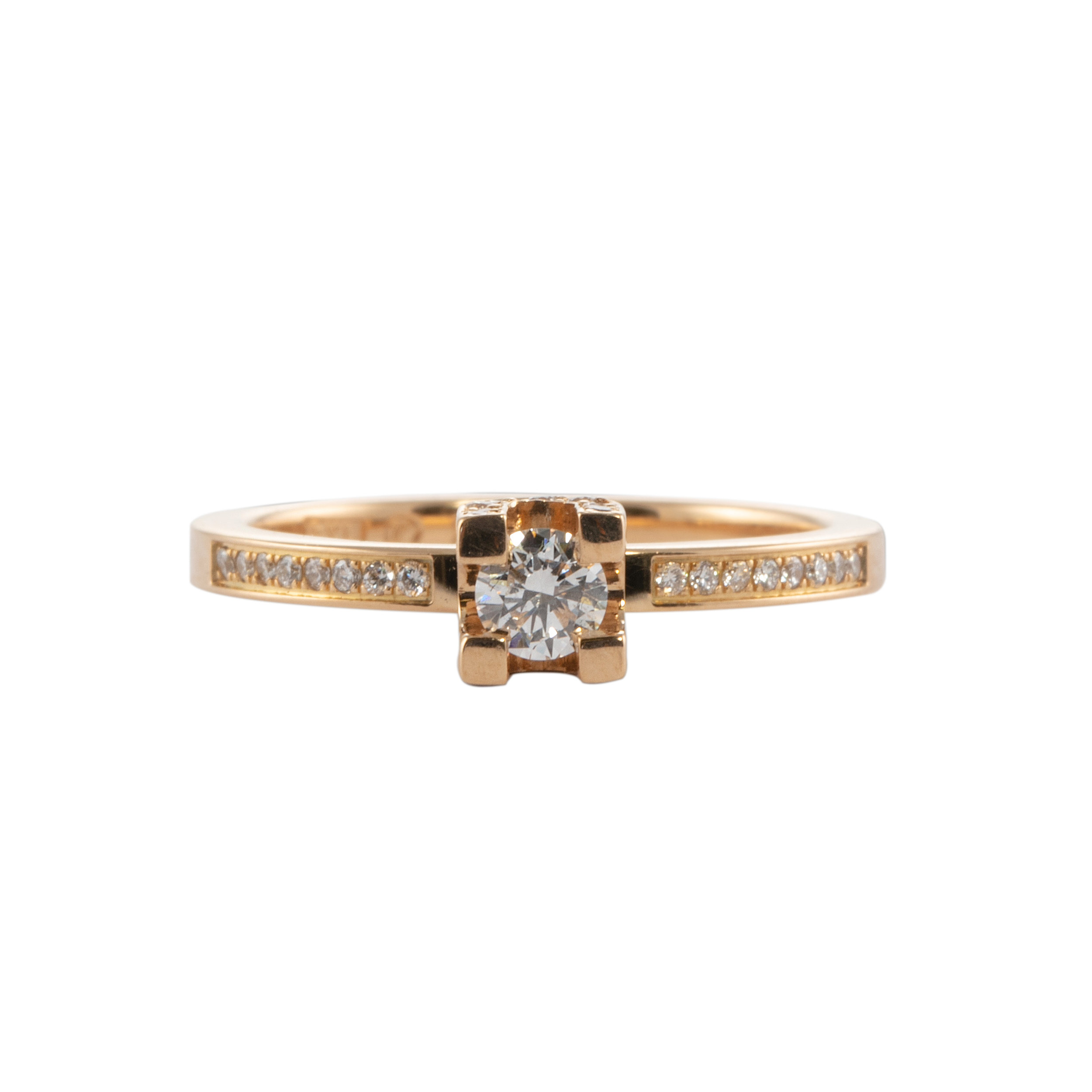 LOVEGATE RING WITH DIAMONDS