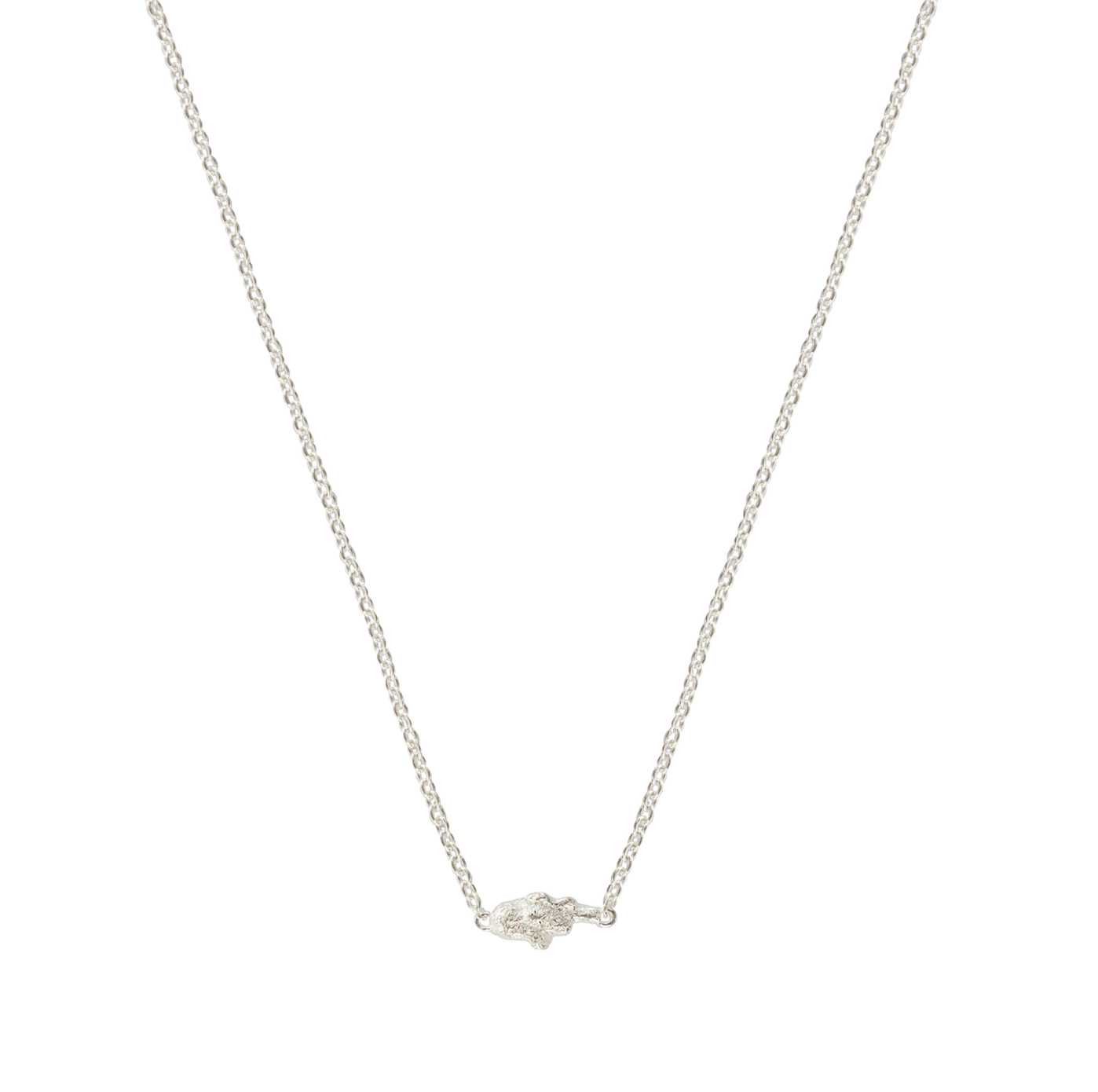RAUK NECKLACE SILVER
