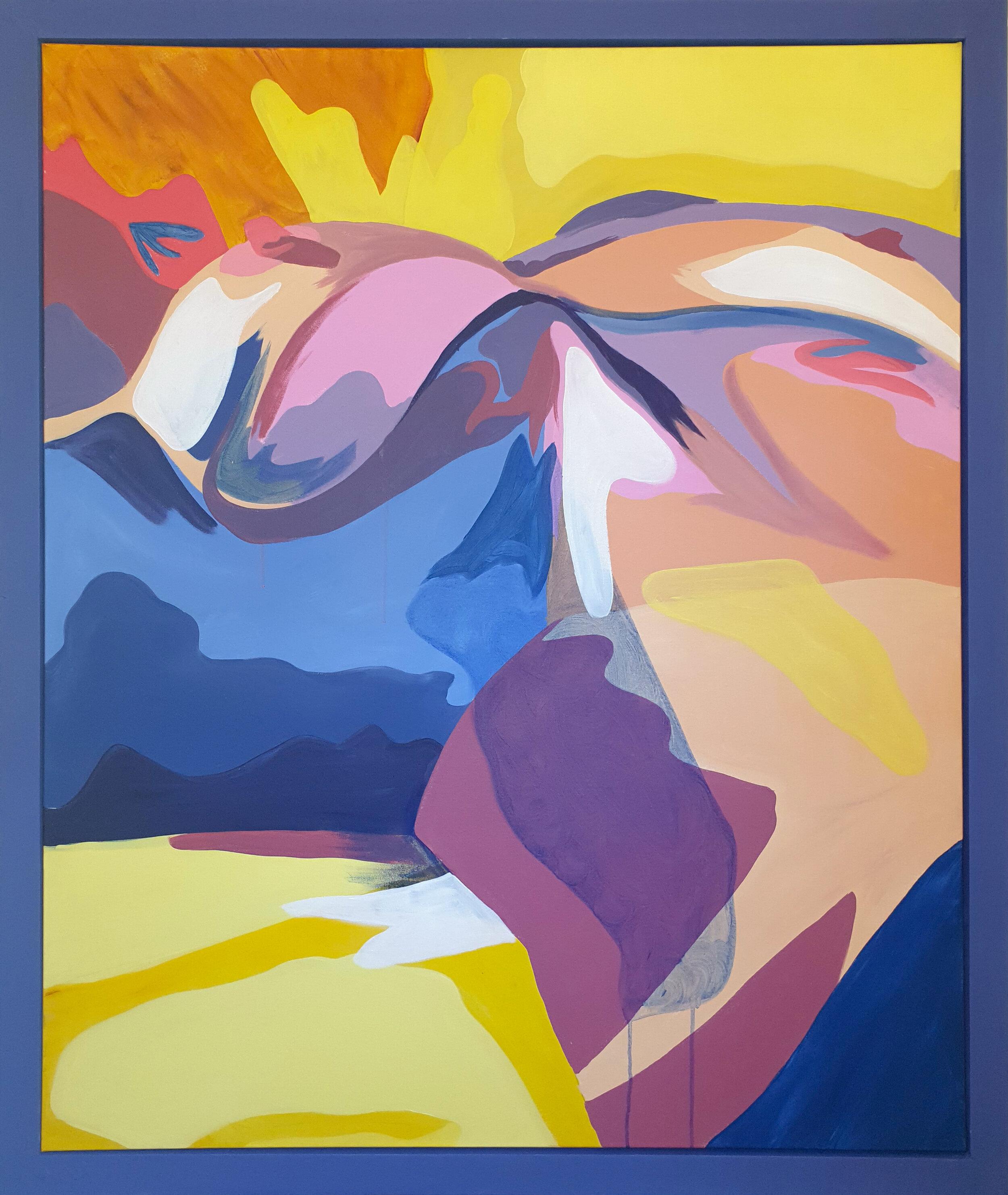 Piano, Acrylic on Canvas, 108 x 128cm Framed (100 x 120cm Unframed).jpg