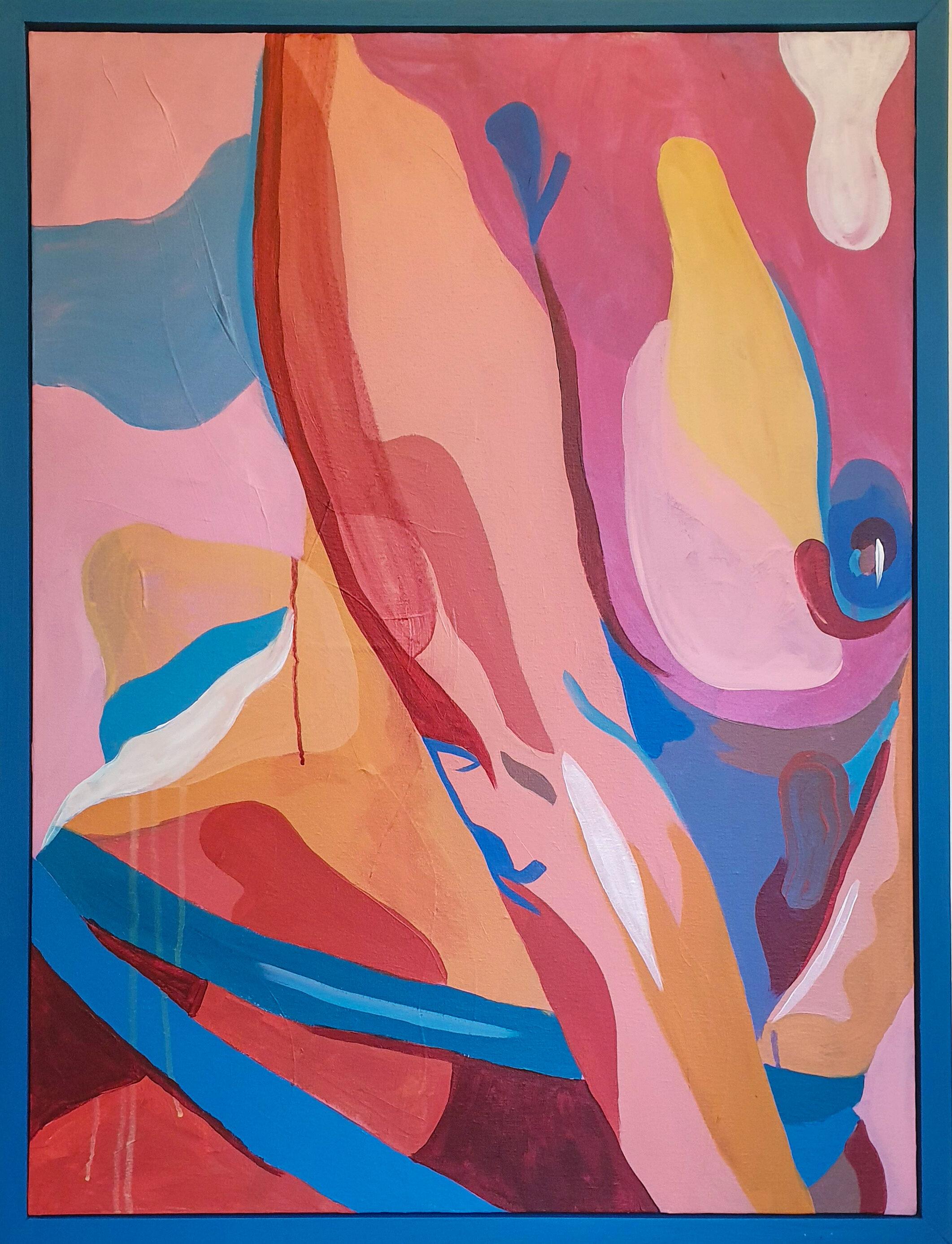 Natalie VII, Acrylic on Canvas, 65 x 85cm Framed (60 x 80cm Unframed).jpg