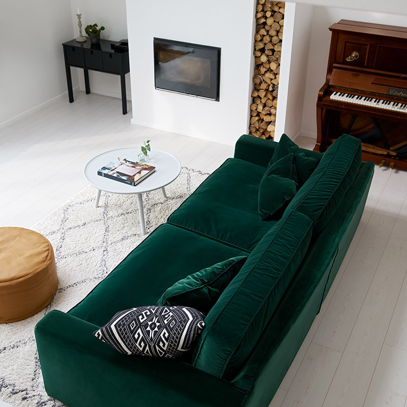 TheMastrella Naccio. - Currently available in our Hayle showroom, a perfect pairing for the Forest Green palette. 15 Hayle Business Park, Hayle.
