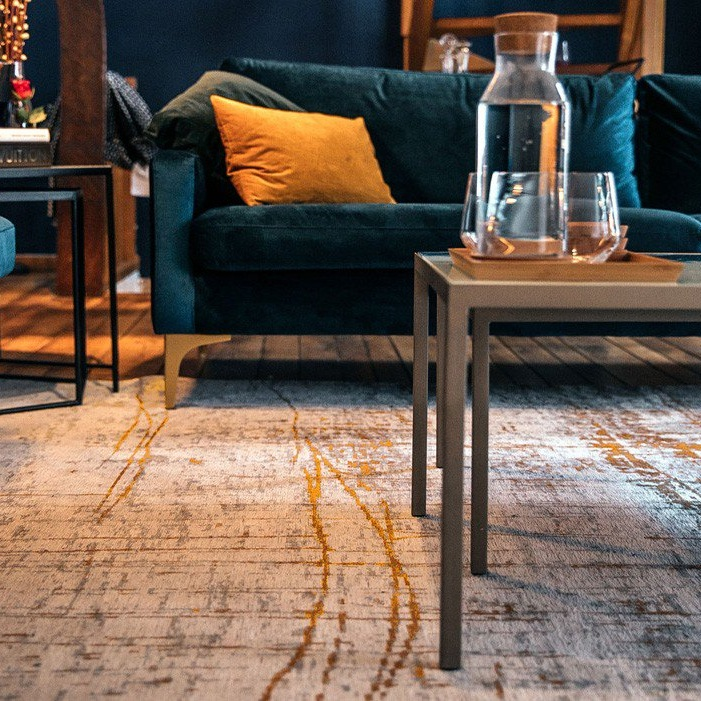 Louis De poortere Mad Men Collection Rug - The perfect addition to the Spiced Honey palette.