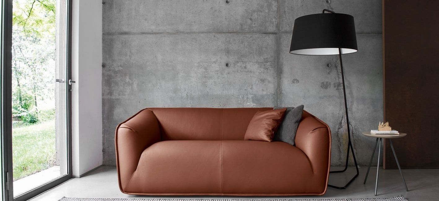 Calligaris Sextans - The Sextans floor lamp features large fabric lampshade with colour coordinating triangular shaped metal base with rounded corners, suitable for placing next to the sofa. Perfect for a living area if you want to achieve a clean contemporary look.