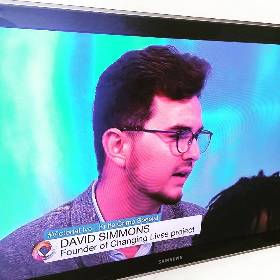Victoria Derbyshire - Knife Crime Special - David was contacted and asked to appear on the BAFTA winning news show. He spoke about the importance of early intervention and the impact Changing Lives in Harlow is having in the town.
