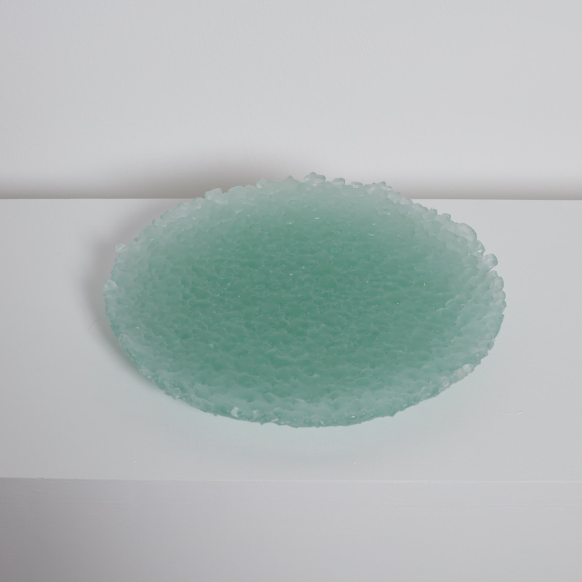 Copy of RECYCLED GLASS PLATTER MEDIUM SR02