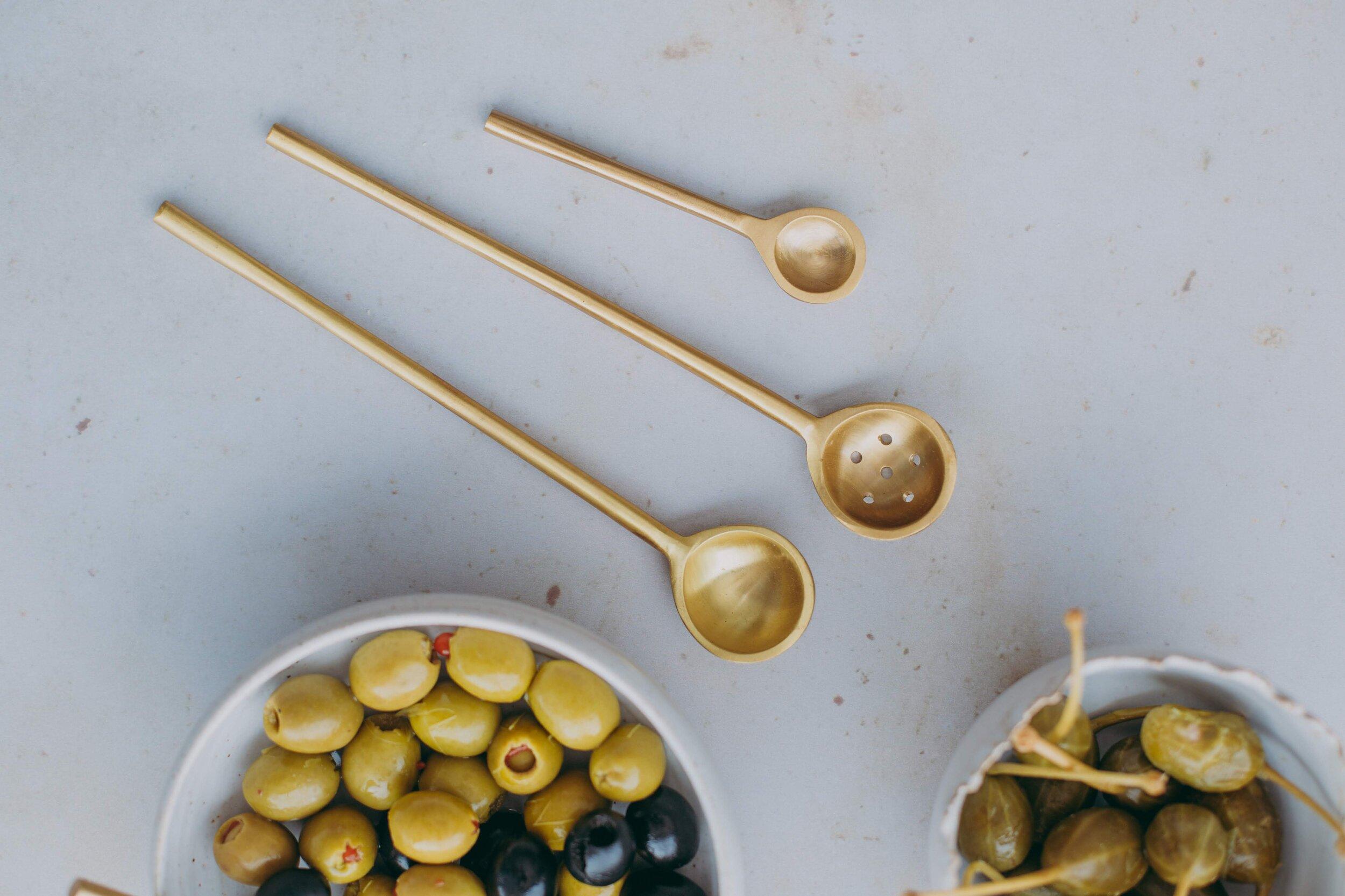 H&R ceramics handmade and brass serving spoons 2.jpg