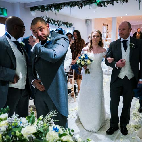 Day Gallery - A sample of photos of the ceremony, guests and meal