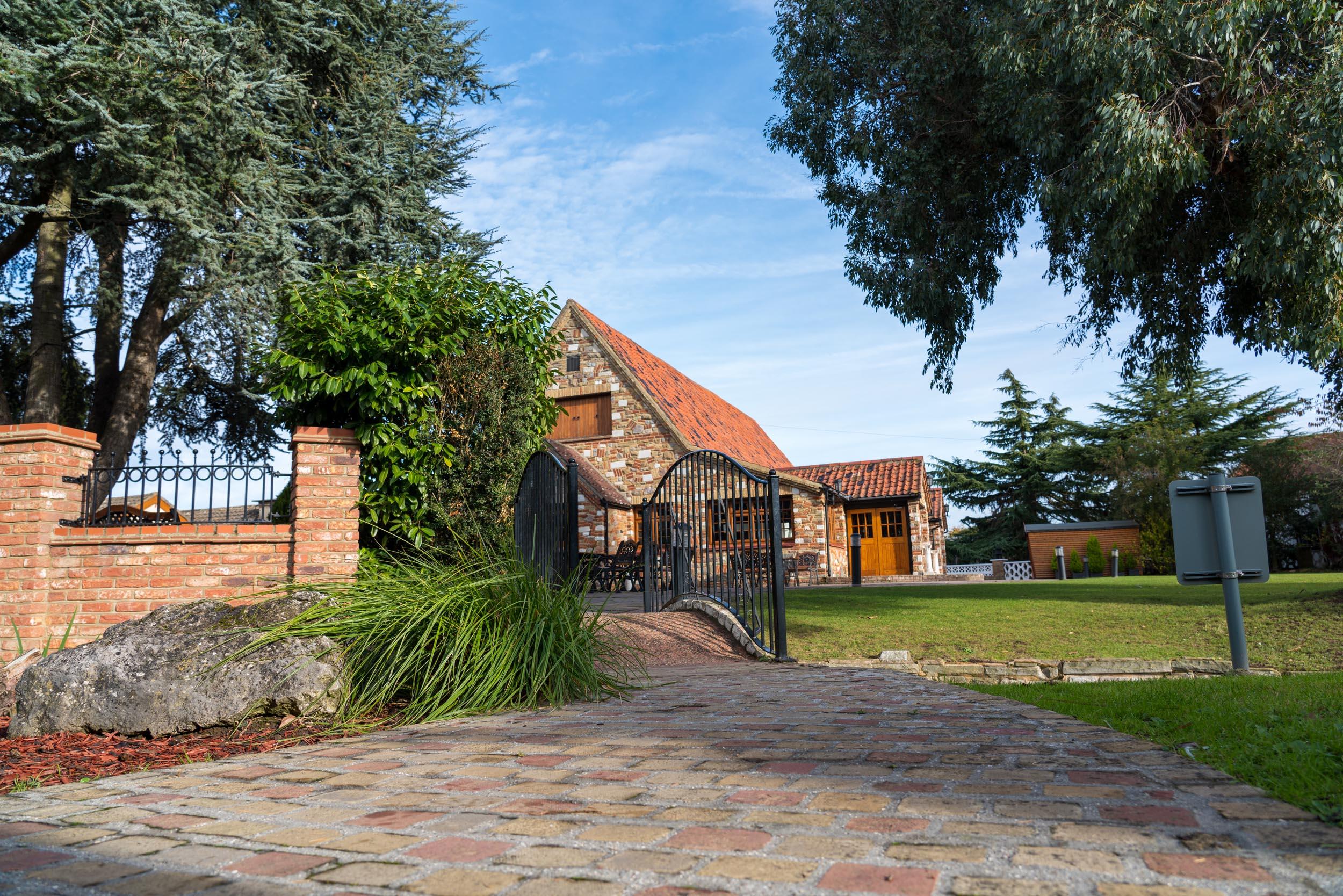 Ye Olde Plough House Patio Area