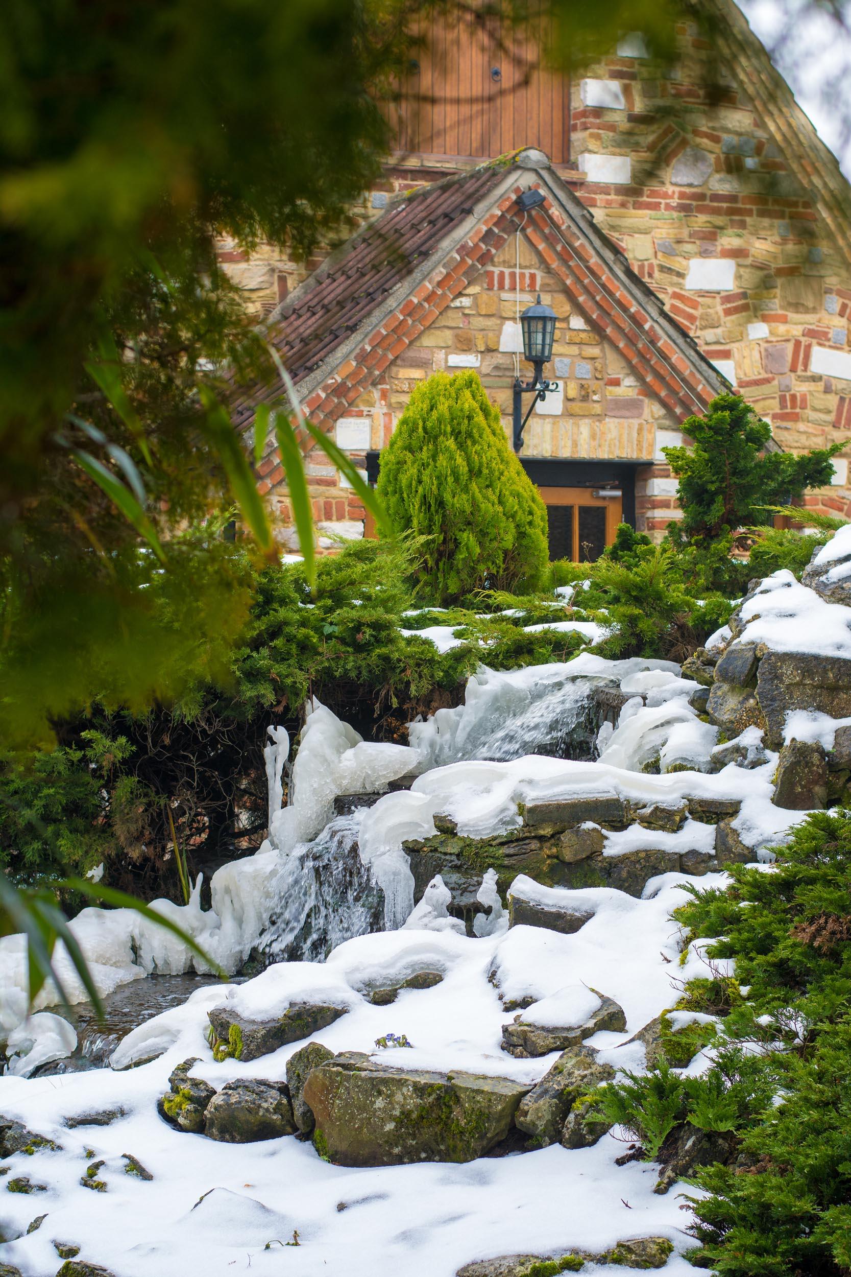 Ye Olde Plough House In Winter