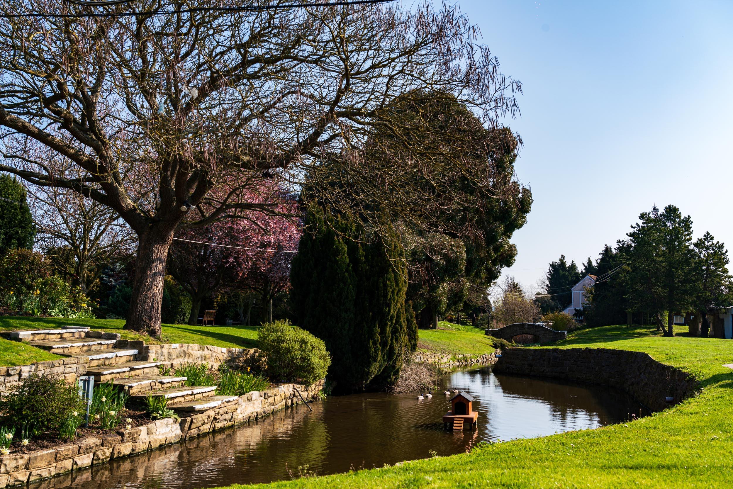Ye Olde Plough House Stream and Bridge