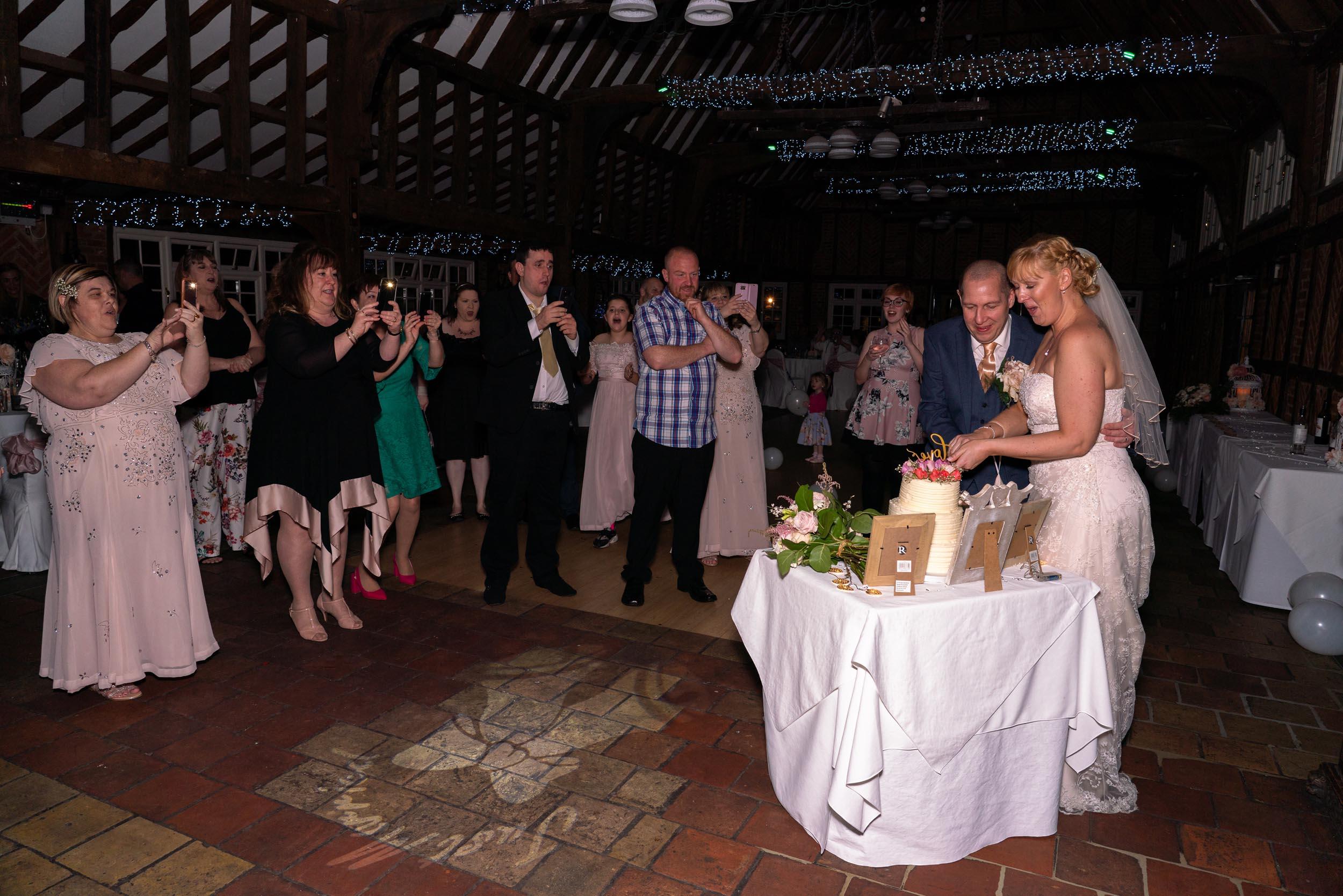 Ye Olde Plough House Wedding Reception